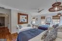 The master is fantastic--large and beautiful - 12060 ROSE HALL DR, CLIFTON