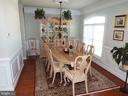 Dining Room (furniture can convey) - 20344 CENTER BROOK SQ, STERLING