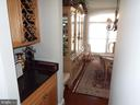 Wine Rack/Wet Bar - 20344 CENTER BROOK SQ, STERLING