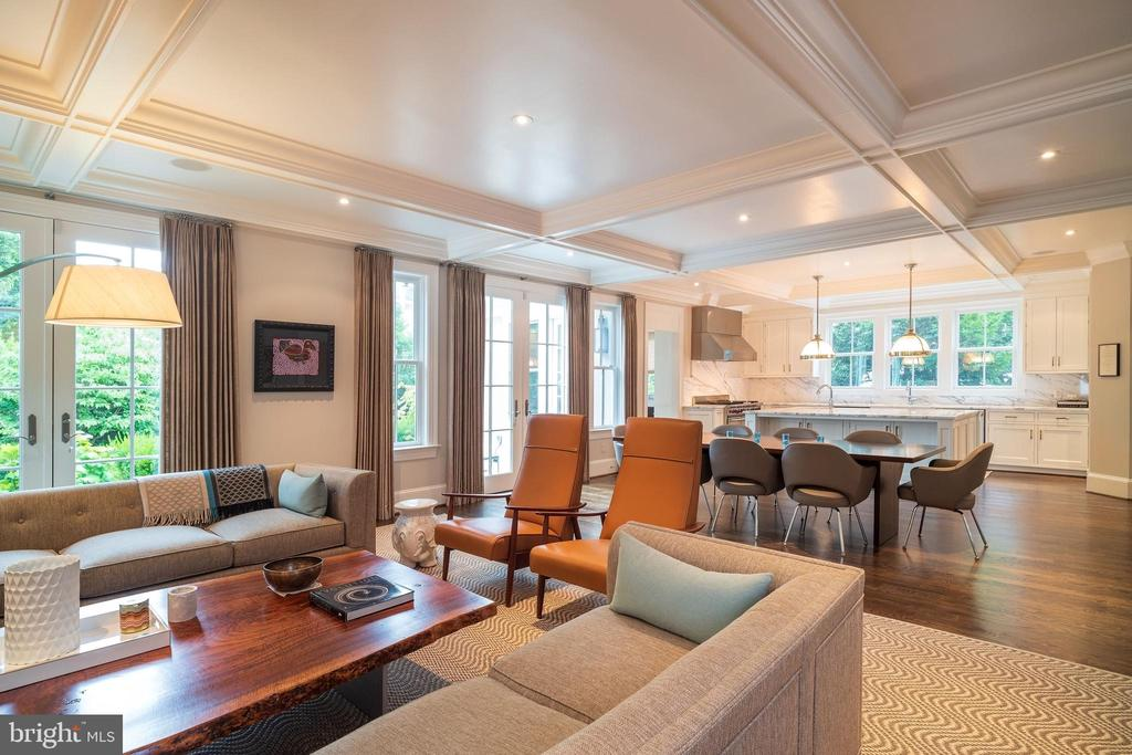 Wonderful Space for Entertaining - 6303 BROAD BRANCH RD, CHEVY CHASE