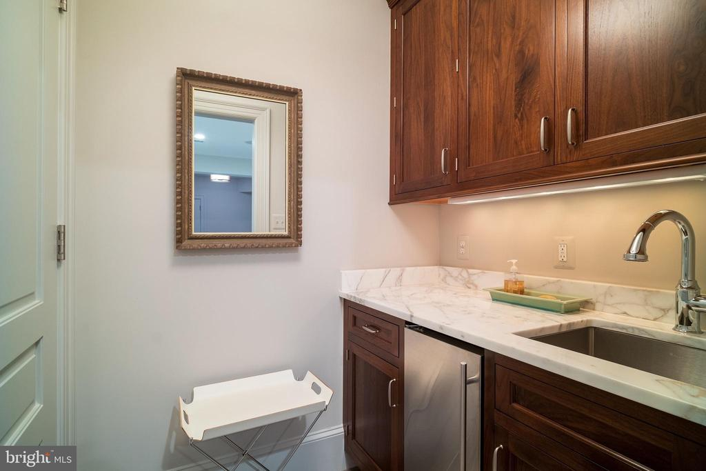 Wet Bar in Basement - 6303 BROAD BRANCH RD, CHEVY CHASE