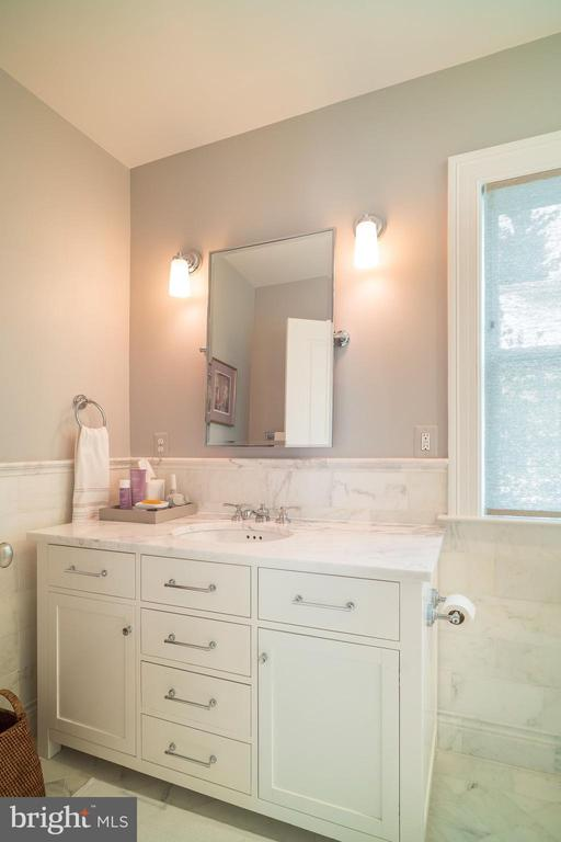 Hall Bath - 6303 BROAD BRANCH RD, CHEVY CHASE
