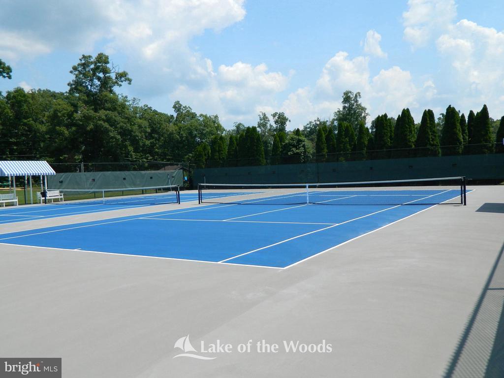 Tennis courts - 104 CEDAR CT, LOCUST GROVE