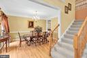 Guest-ready formal dining room - 47285 OX BOW CIR, STERLING