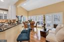 Breakfast bar - 47285 OX BOW CIR, STERLING