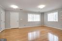 Family room. Tons of light with open concept! - 1575 N VAN DORN ST, ALEXANDRIA