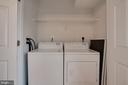 Main level washer and dryer - 1575 N VAN DORN ST, ALEXANDRIA