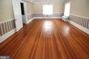 large master bedroom with hardwood floor - 909 WEST KING, MARTINSBURG