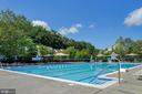 Community pool within walking distance - 47285 OX BOW CIR, STERLING