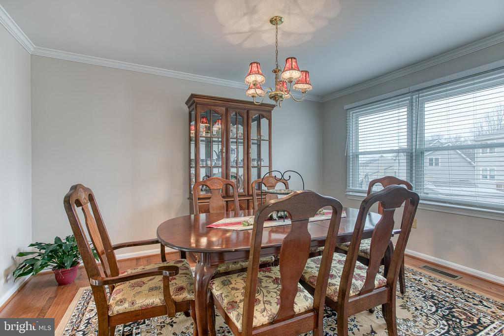 Dining room with windows to back yard! - 4 MARKHAM WAY, STAFFORD