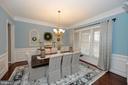 Traditional Dining Room - 36335 SILCOTT MEADOW PL, PURCELLVILLE