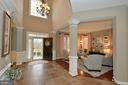 Foyer View Two with Architectural Columns - 36335 SILCOTT MEADOW PL, PURCELLVILLE