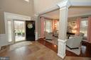 Elegant 2 Story Entry Foyer - 36335 SILCOTT MEADOW PL, PURCELLVILLE
