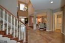Foyer Staircase - 36335 SILCOTT MEADOW PL, PURCELLVILLE