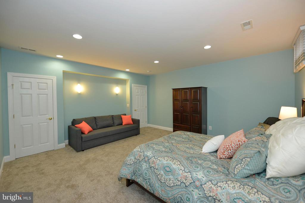 Bonus Room/Fourth Bedroom with Door to Full Bath - 36335 SILCOTT MEADOW PL, PURCELLVILLE