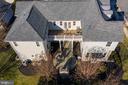 Aerial View of Balcony & Patio - 21883 KNOB HILL PL, ASHBURN