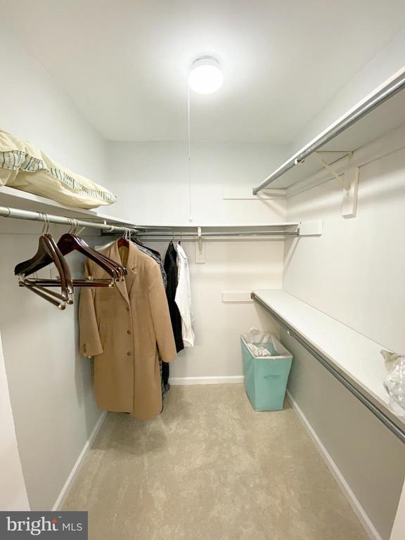 Master Closet - 11644 MEDITERRANEAN CT, RESTON