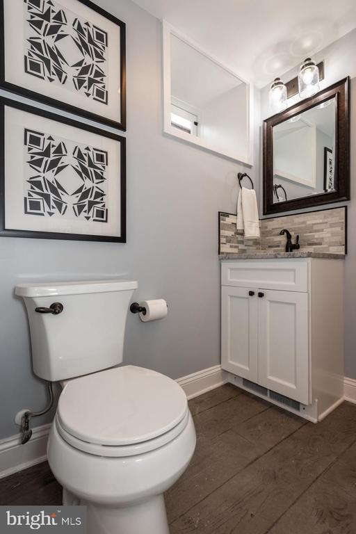 Full Basement bathroom with toe kick heater - 165 B AND O AVE, FREDERICK
