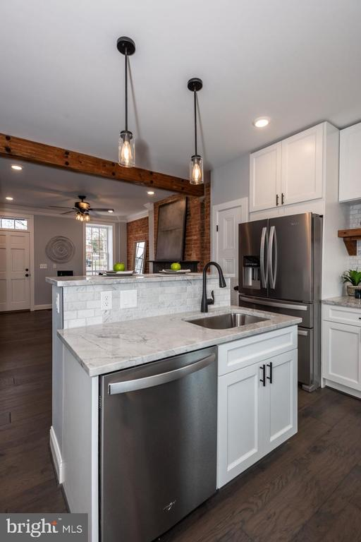Kitchen sink and dishwasher in island - 165 B AND O AVE, FREDERICK