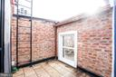 Private Roof Patio - 1747 T ST NW #5, WASHINGTON
