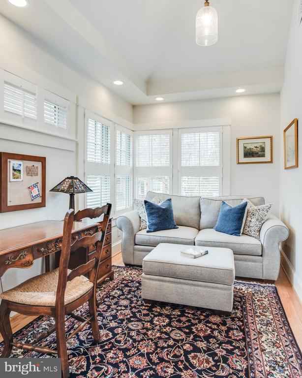 Cozy Sitting Room w/plenty of natural light. - 136 LAFAYETTE AVE, ANNAPOLIS