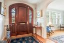 Foyer with style - 136 LAFAYETTE AVE, ANNAPOLIS