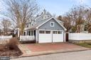 Two car garage w/even more off street parking. - 136 LAFAYETTE AVE, ANNAPOLIS