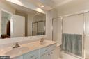 Master bathroom - 7700 LAFAYETTE FOREST DR #23, ANNANDALE