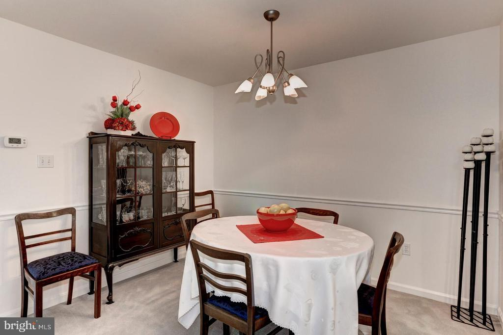 Dining room - 7700 LAFAYETTE FOREST DR #23, ANNANDALE