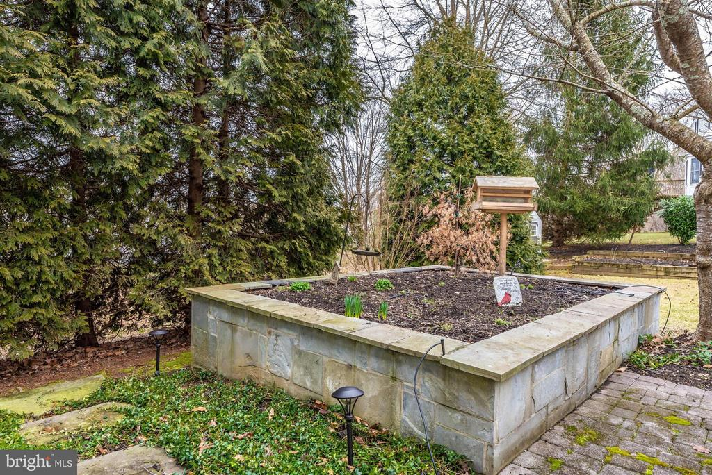 Exterior Rear-Raised Garden Box - 10649 FINN DR, NEW MARKET