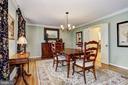 Dining Room - 10419 GORMAN RD, LAUREL