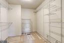 Master Walk-In Closet - 10419 GORMAN RD, LAUREL