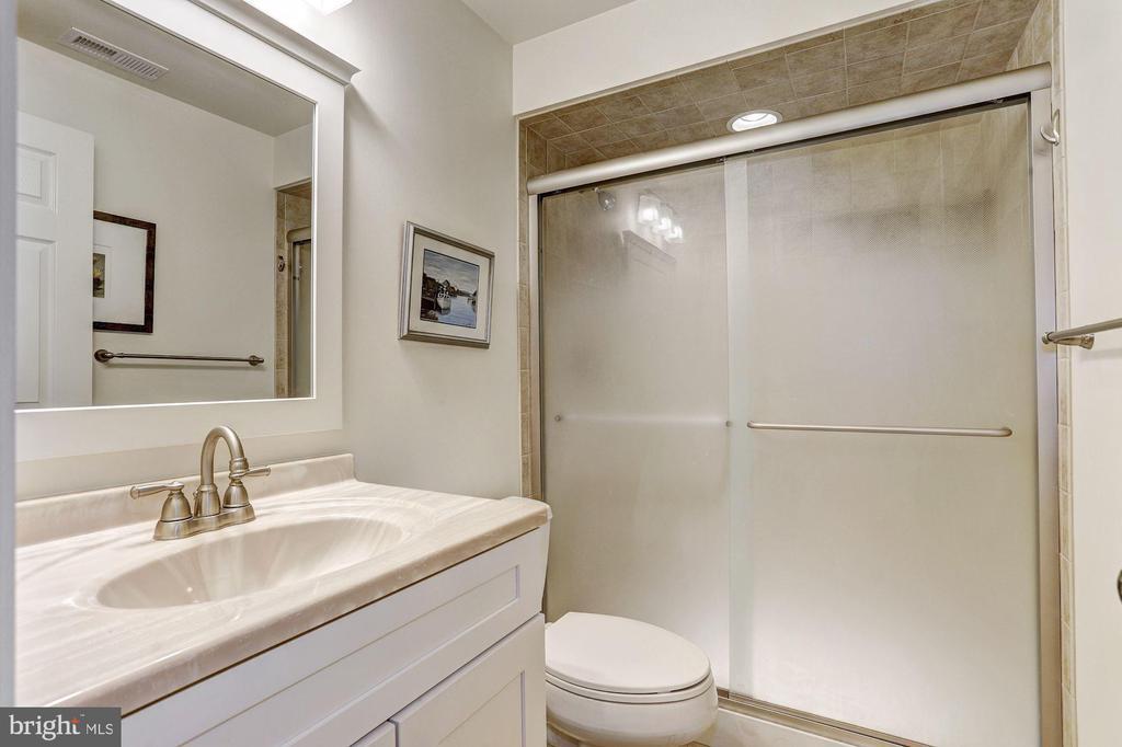 Lower Level Full Bath - 10419 GORMAN RD, LAUREL