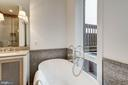 Master Bathroom with Soaking Tub - 917 S ST NW #2, WASHINGTON