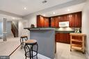 Wet Bar with Microwave & Dishwasher - 47747 BRAWNER PL, STERLING
