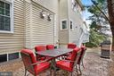 Patio off the Kitchen for Outdoor Entertaining - 47747 BRAWNER PL, STERLING