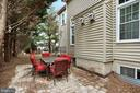 Private Patio - 47747 BRAWNER PL, STERLING