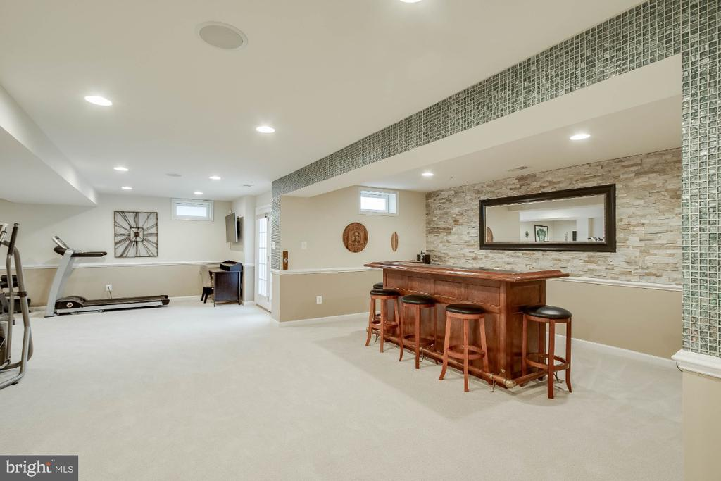 Spacious Rec Room - 26003 KIMBERLY ROSE DR, CHANTILLY