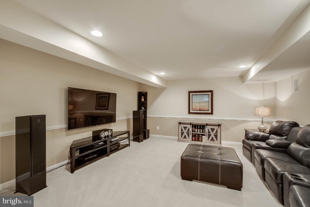 Great Theatre Room - 26003 KIMBERLY ROSE DR, CHANTILLY