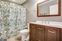 Hall bathroom - 2252 PARTLOW RD, BEAVERDAM