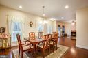 Formal dining room - 2252 PARTLOW RD, BEAVERDAM