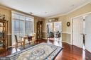 Living room toward Sunroom/Office - 11775 STRATFORD HOUSE PL #303, RESTON