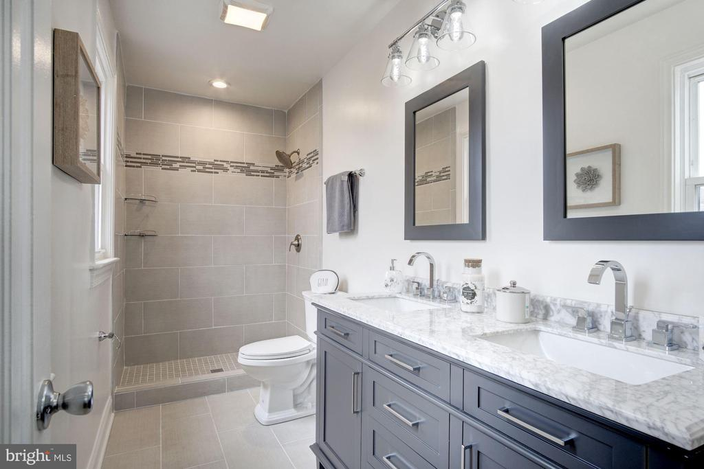 Master Bath Features Double Vanity - 5710 3RD PL NW, WASHINGTON