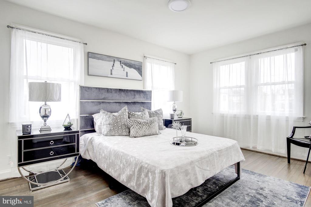 Experience Authentic Elegance in Bedroom  Two - 5710 3RD PL NW, WASHINGTON
