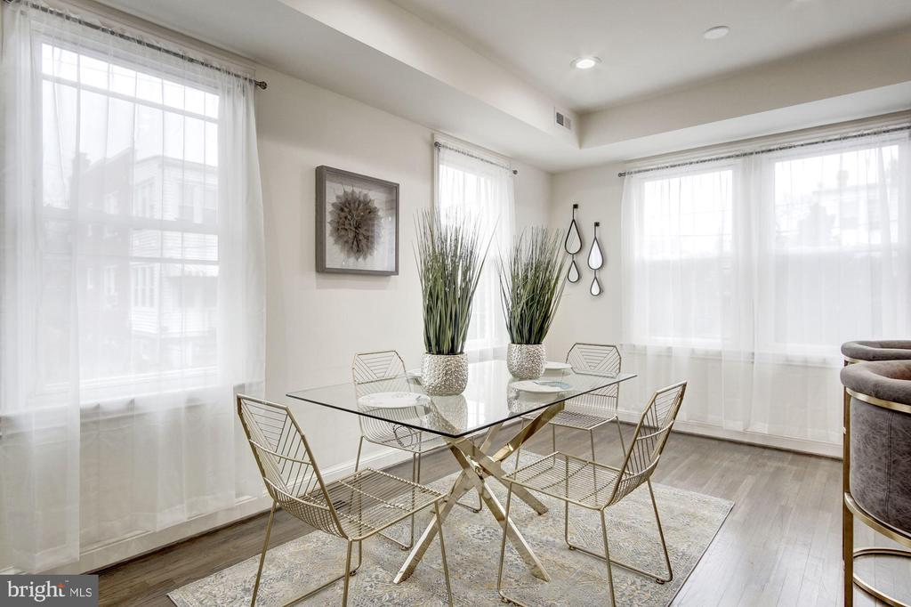 Experience Elegant Formal Dining - 5710 3RD PL NW, WASHINGTON