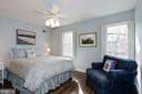 Spacious third bedroom with tons of natural light. - 6951 GREENTREE RD, BETHESDA