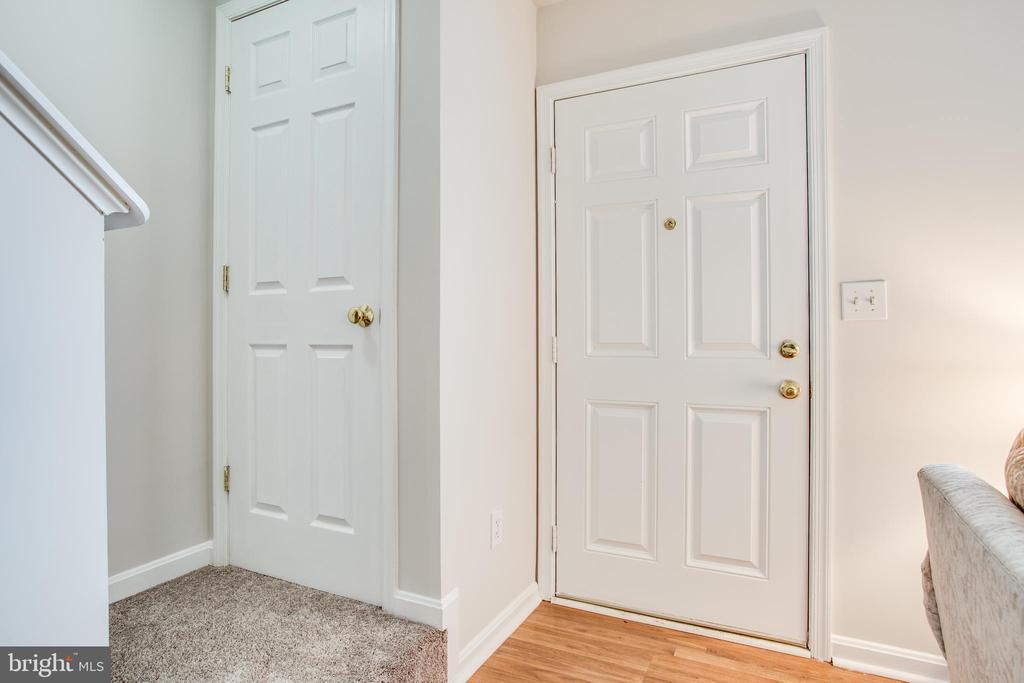 Front door and coat closet - 9710 W MIDLAND WAY, FREDERICKSBURG
