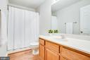 Hall bath with new shower/tub, faucet & fixtures - 9710 W MIDLAND WAY, FREDERICKSBURG