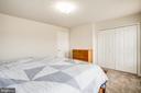 Nice size master closet - 9710 W MIDLAND WAY, FREDERICKSBURG