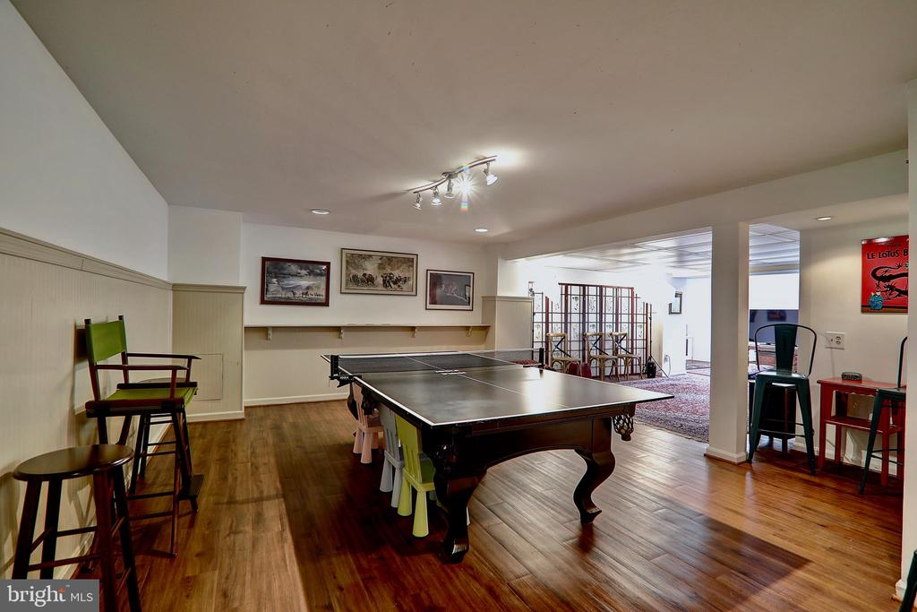 Spacious Basement for Recreation and Gatherings - 10600 VICKERS, VIENNA